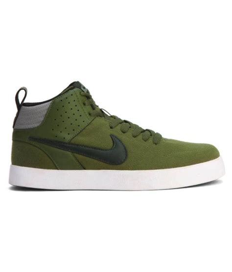Nike Liteforce Green Sneakers