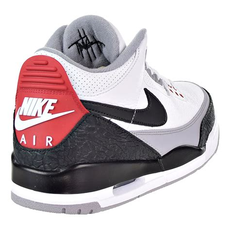 Nike Men's Air 3 Retro Tinker NRG White/Black/Red AQ3835-160 (Size: 10)