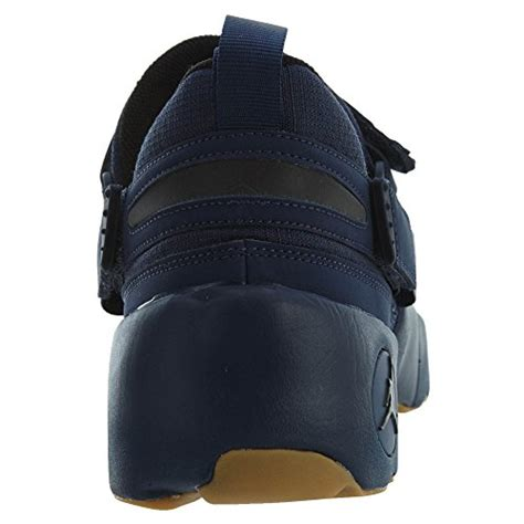 Nike Men's Trunner LX Midnight Navy/Black/Gum Yellow Training Shoe 12 Men US