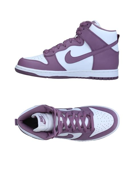 Nike Purple High Top Sneakers