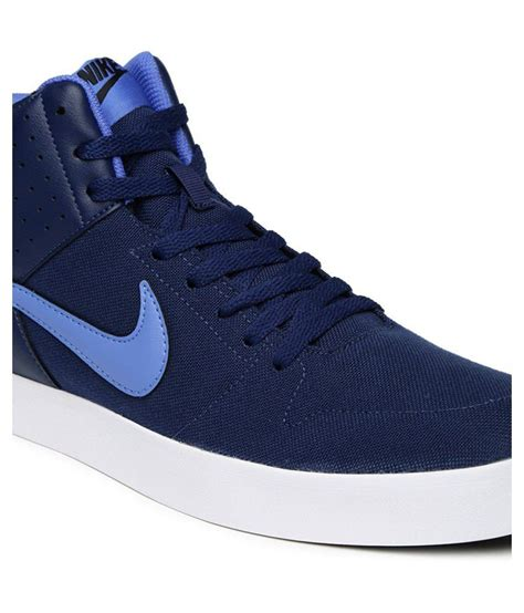 Nike Sneakers Blue Casual Shoes