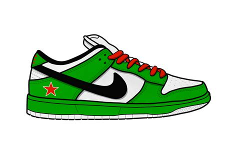 Nike Sneakers Clipart