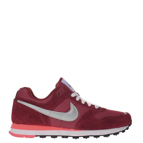 Nike Sneakers Dames Bordeau Rood