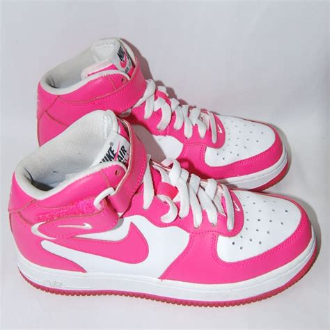 Nike Sneakers White And Pink