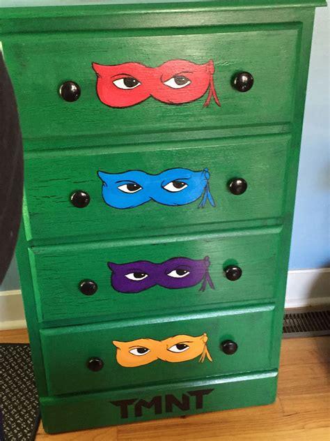 Ninja-Turtle-Dresser-Diy