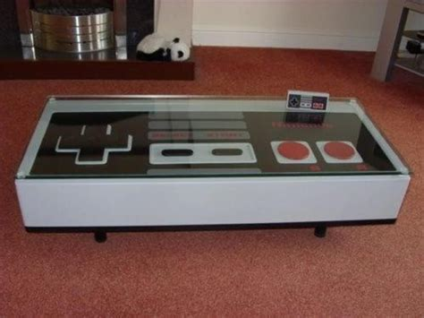 Nintendo Controller Table Diy Ideas