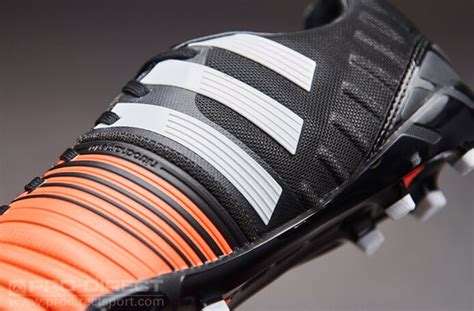 Nitrocharge 1.0 FG Soccer Cleat (Black, Flash Orange, White)