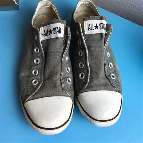No Lace Converse Sneakers