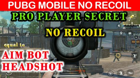 No Recoil PUBG Cheat