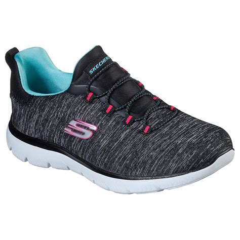 No Tie Skechers Sneakers