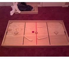 Best Nok hockey table plans