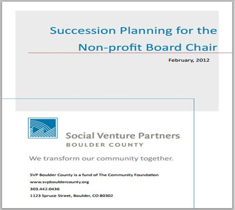 Nonprofit-Board-Chair-Succession-Planning
