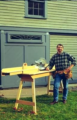 Norm Abram Portable Miter Saw Table Plans