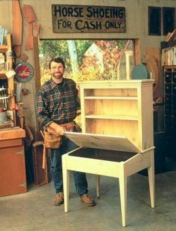 Norm Abrams Planters Desk Youtube