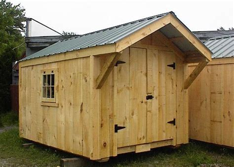 Northern Tool 10 X 10 Storage Barn Plans