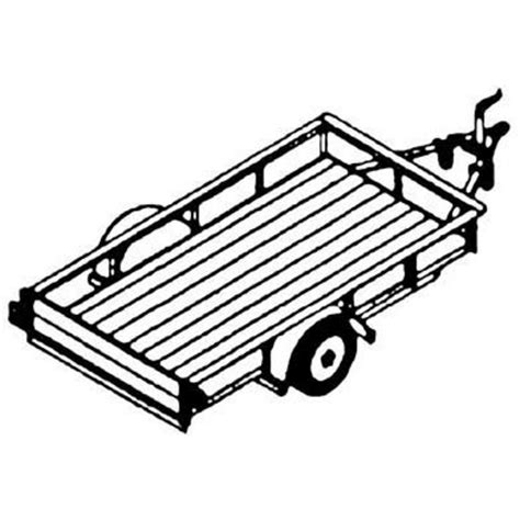 Northern Tool Car Trailer Plans