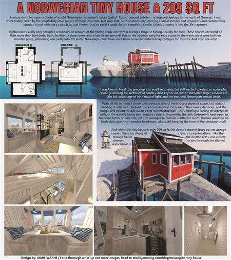 Norwegian-Tiny-House-Plans