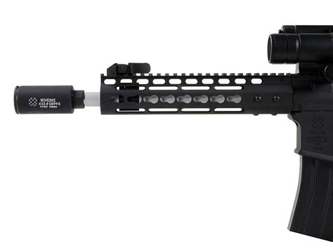 Noveske 13 5 Free Float Keymod Handguard And Pistol Handguard With A2 Front Sight Support