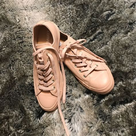 Nude Converse Sneakers