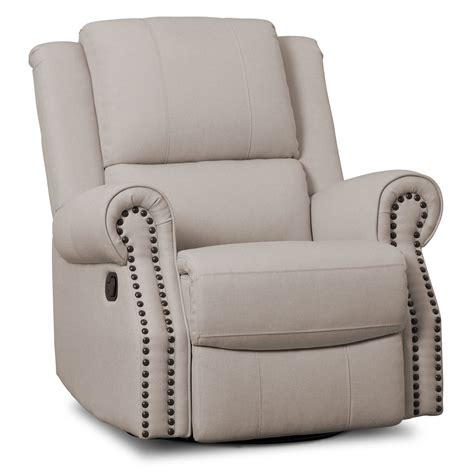 Nursery Swivel Rocker Recliner