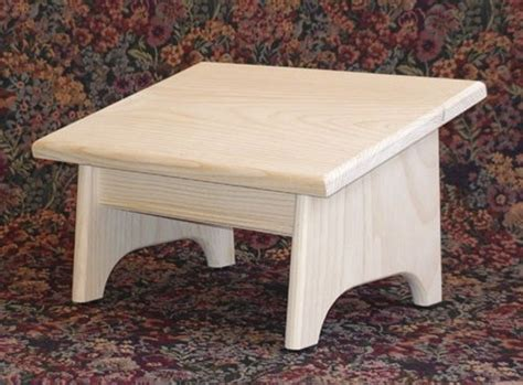 Nursing Footstool Plans Woodworking