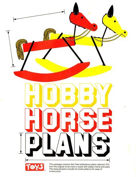 Nut-Tree-Hobby-Horse-Plans