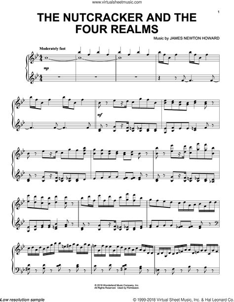 Nutcracker Piano Duet Sheet Music