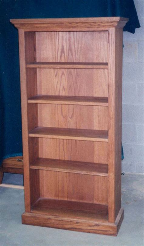 Oak Bookcase Plans