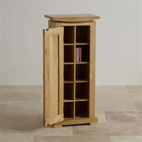 Oak Cd Storage Units UK