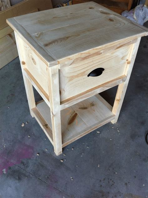 Oak Nightstand Plans DIY Patio