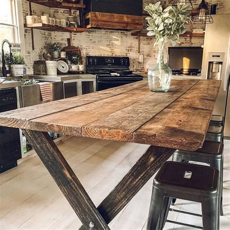 Oak Table Design Plans