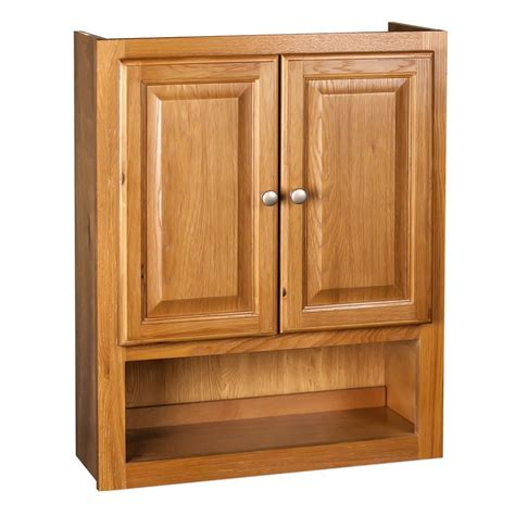 Oak Toilet Topper Cabinet 6 Inches Deep