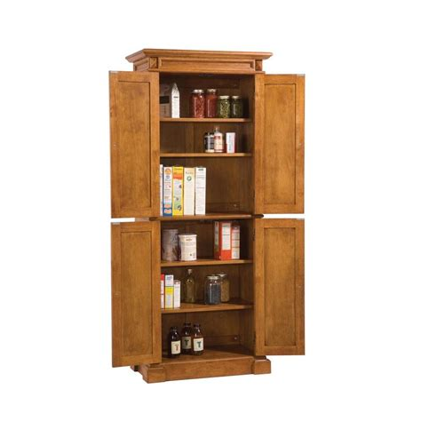 Oak pantry cabinet home depot Image