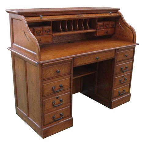 Oak-Roll-Top-Desk-Plans