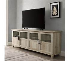 Best Oak tv stand with mount
