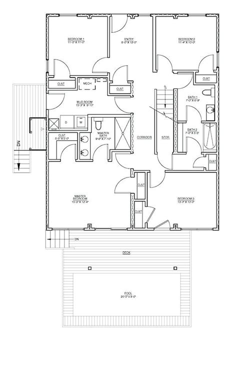 Obx-Beach-Box-House-Plans