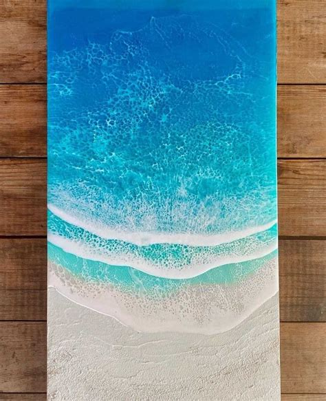 Ocean Waves Wood Sign Diy Christian