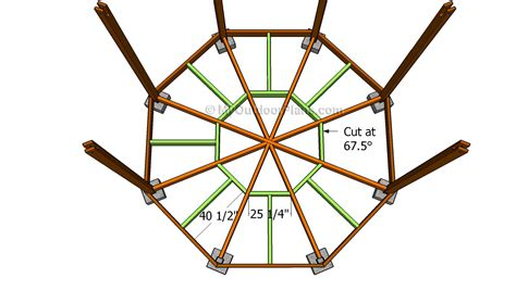 Octagon Gazebo Building Plans