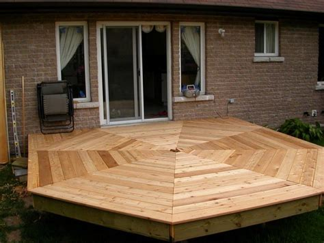 Octagon Shaped Deck Plans