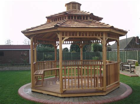 Octagon Wood Mosquito Patio Diy Kits