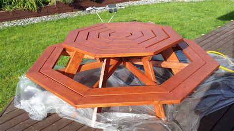 Octagon-Picnic-Table-Plans-Sale