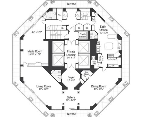 Octagon-Shaped-House-Plans