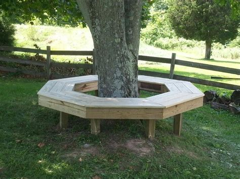 Octagon-Tree-Bench-Plans