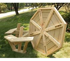 Best Octagon picnic table plans free
