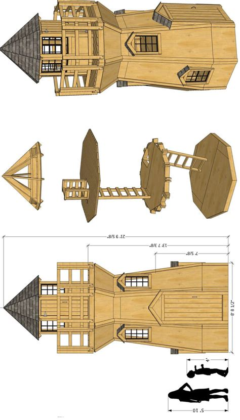 Octagonal-Lighthouse-Plans