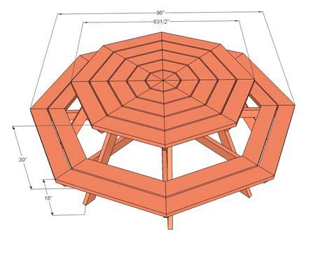 Octagonal-Picnic-Table-Plans