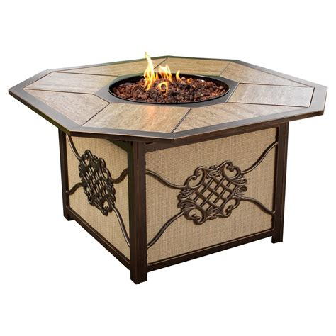 Octagonal-Wood-Patio-With-Inlaid-Fire-Pit-Plans