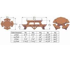 Best Octagonal picnic table plans.aspx