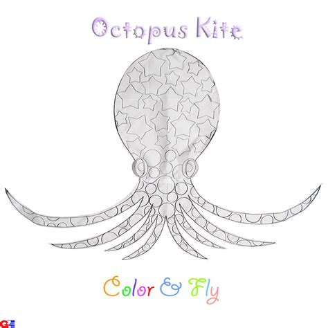 Octopus Diy Kite