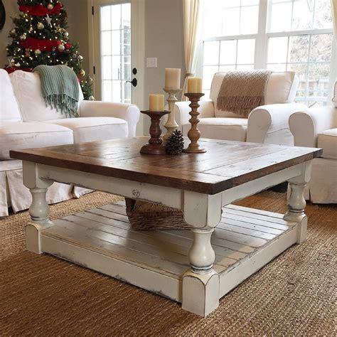 Off-White-Farmhouse-Coffee-Table
